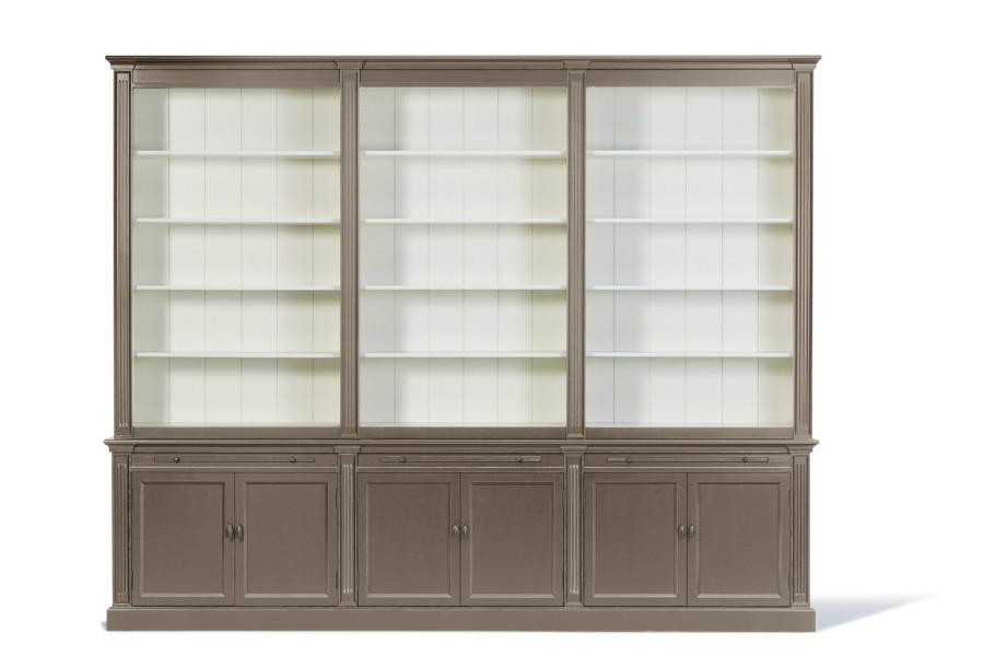 landelijke boekenkast 3 meter