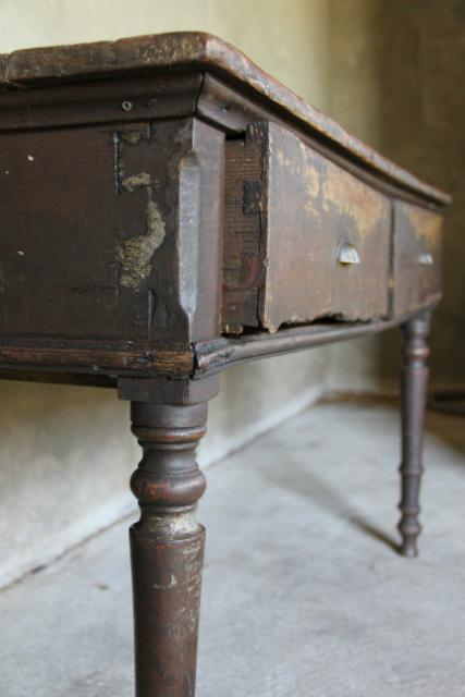 Oud Houten Side Table.Oud Houten Sidetable Collectie Inndoors